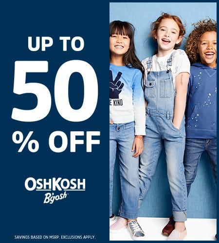 True Blue Up to 50% Off from Oshkosh B'gosh