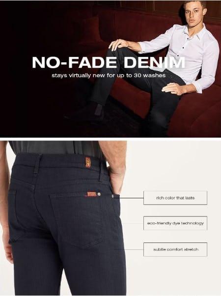 Introducing: No-Fade Denim