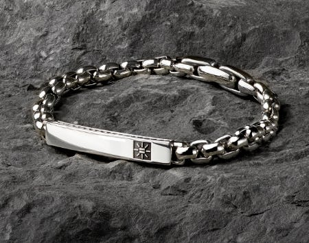 Intersectionality by Geena Davis™ Box Chain ID Bracelet from David Yurman