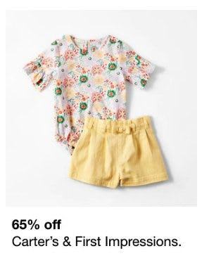 65% Off Carter's & First Impressions from macy's