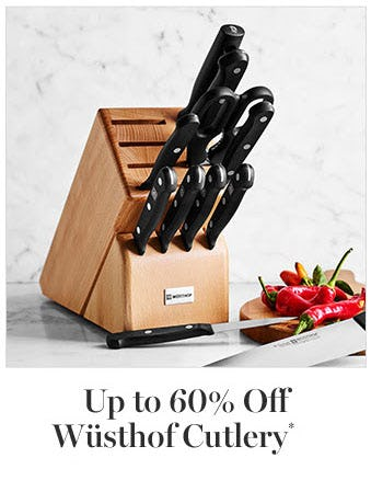Up to 60% Off Wusthof Cutlery from Williams-Sonoma