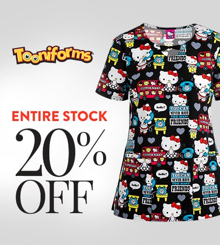 20% Off Tooniforms