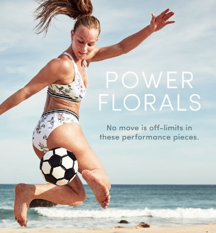 Power Florals from Athleta