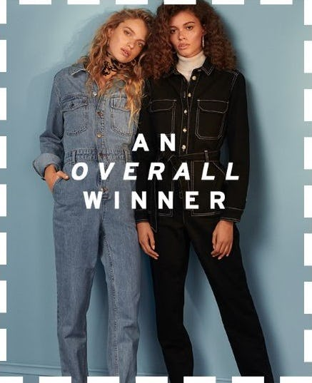 It's All About the Boilersuit from TOPSHOP