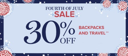 Fourth of July Sale: 30% Off from Vera Bradley