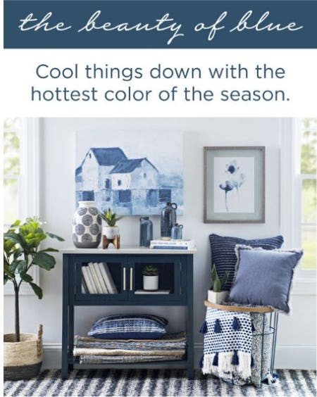 The Season's Hottest Color from Kirkland's Home