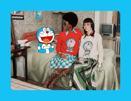 Doraemon x Gucci Collection from Gucci