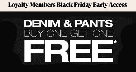 Denim & Pants Buy One, Get One Free from PacSun