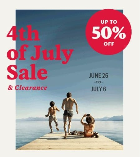 4th of July Sale & Clearance up to 50% Off from REI