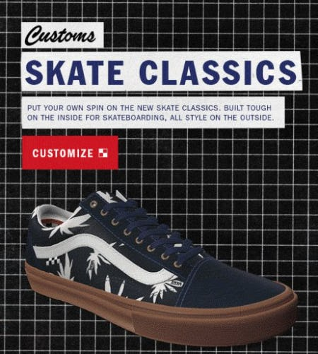 Meet the New Customs Skate Classics from Vans