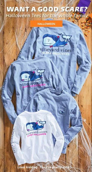 Halloween Tees For The Whole Family from vineyard vines