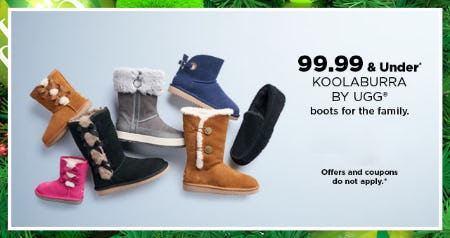 $99.99 & Under Koolaburra By UGG from Kohl's