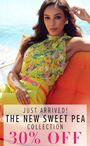 30% Off The New Sweet Pea Collection from New York & Company