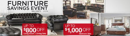 Furniture Savings Event from Costco