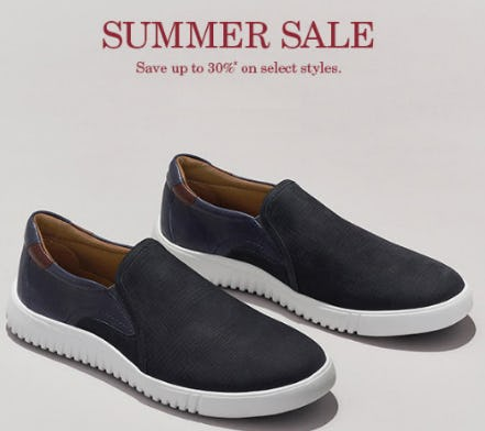 Save Up to 30% on Summer Sale from JOHNSTON & MURPHY
