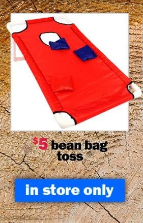 $5 Bean Bag Toss from Five Below