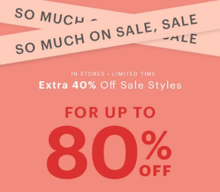 Up to 80% Off Sale from Charlotte Russe