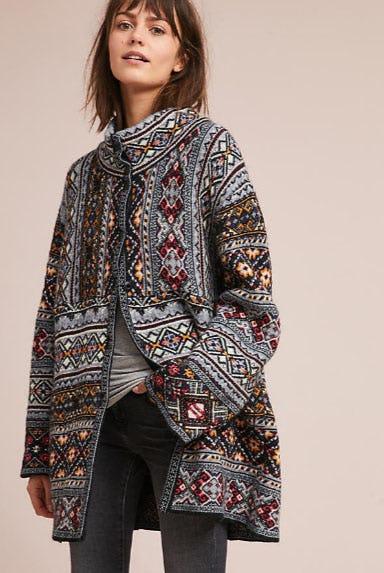 Oslo Sweater Coat