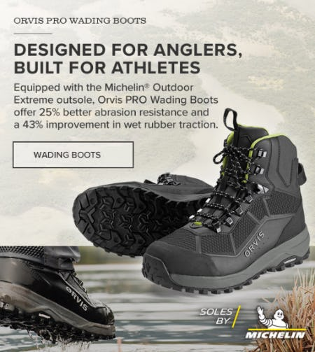 Orvis PRO Wading Boots from Orvis