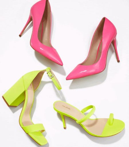 New Neon Heels to Rock Right Now