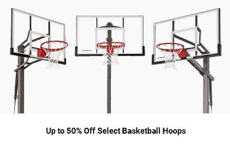 Up to 50% Off Select Basketball Hoops from Dick's Sporting Goods