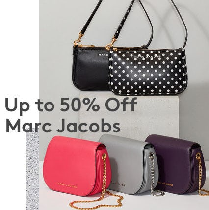 Up to 50% Off Marc Jacobs