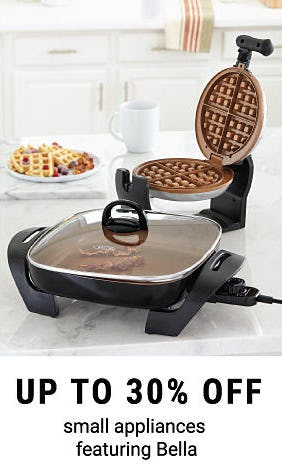 Up to 30% Off Small Appliances