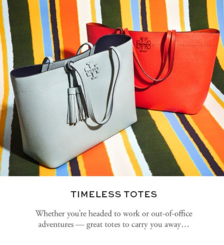 Timeless Totes from Tory Burch