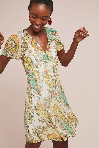 Delaunay Mini Dress from Anthropologie