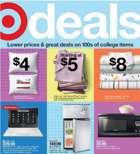 Weekly Deals from Target