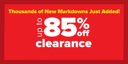 Up to 85% Off Clearance from Belk