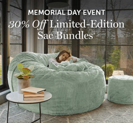 Memorial Day Event from Lovesac