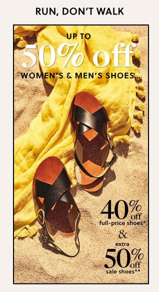 a882f9a63 Up to 50% Off Women s   Men s Shoes ...