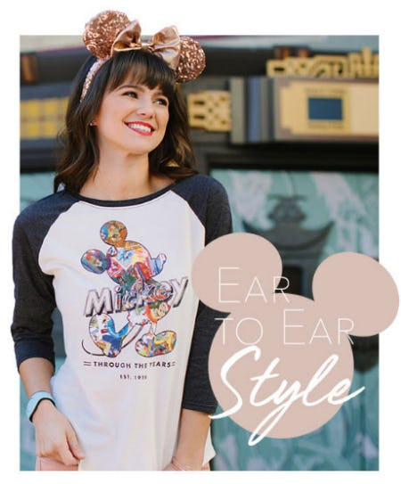 Ear to Ear Style from Disney Store