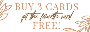 Buy 3 Cards, Get the Fourth Card Free from PAPYRUS
