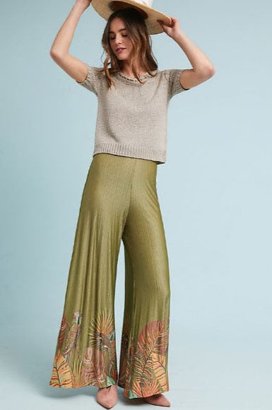 Farm Rio Guadeloupe Wide Legs from Anthropologie