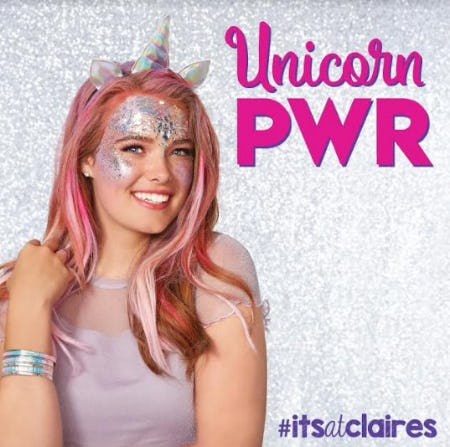 Unicorn PWR is IN! from Claire's