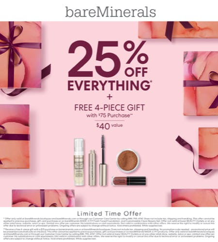Holiday Event! from bareMinerals