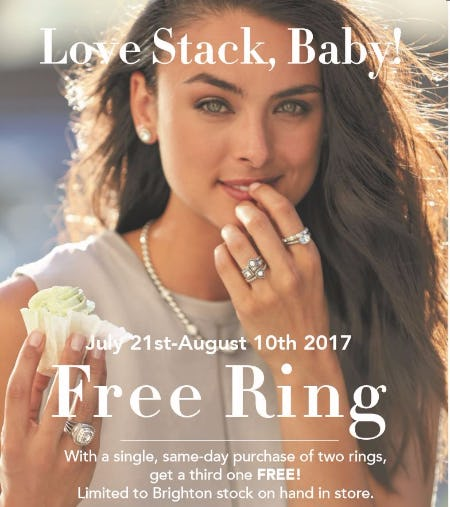 Love Stack, Baby! FREE RING!
