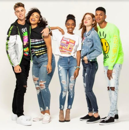 Guys/Girls, Jeans BOGO 50% off from rue21