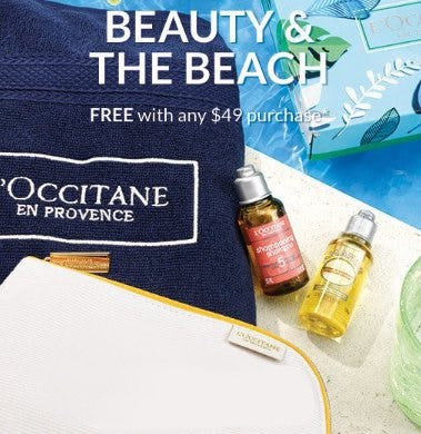Free Gift With Any $49 Purchase from L'Occitane