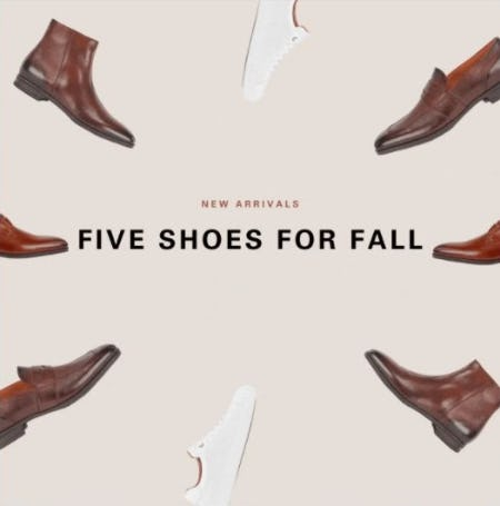 Five Fall Shoes You Need