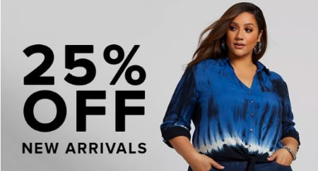 25% Off New Arrivals from Fashion To Figure