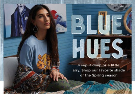 Blue Hues For Every Mood from Earthbound Trading Company