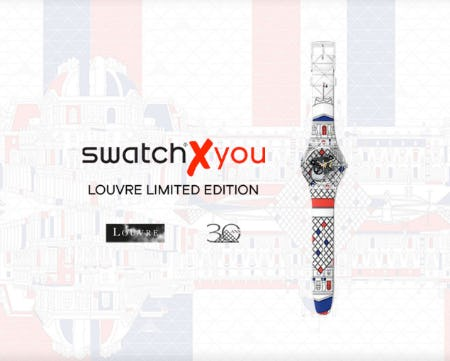 The SWATCH X LOUVRE Collaboration from Swatch
