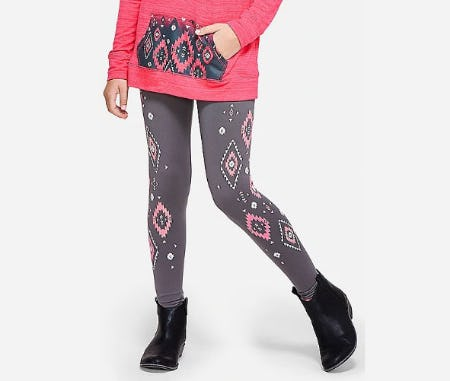 Cozy Pattern Leggings
