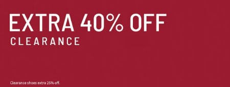 Extra 40% Off Clearance from Jos. A. Bank