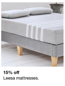 15% Off Leesa Mattresses