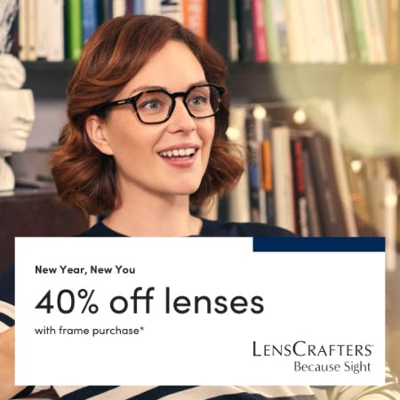 New Year, New You. Ready to try a new style? from LensCrafters