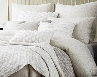 Warm Up with Cozy Bedding from West Elm